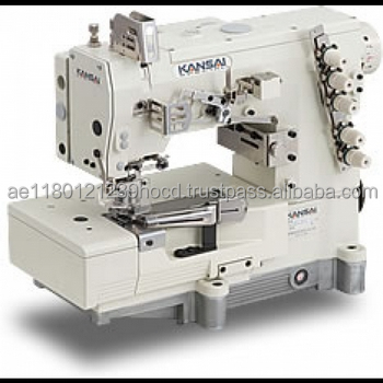 Kansai Special WX-8803F Sewing Machine - 3 Needle 5 Thread Top and Bottom  Coverstitch ced9b09132d