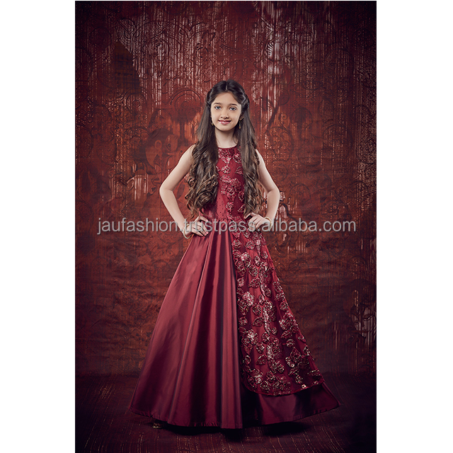 d6bc2aff04 Evening gowns for kids For Sale / Kids Gown online Shopping / Latest Gown  Designs For Kids
