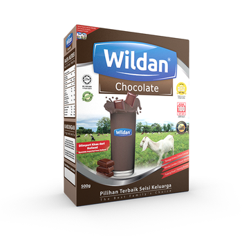 Wildan Niaga Wholesale High Quality Skimmed Chocolate Goat Milk Powder