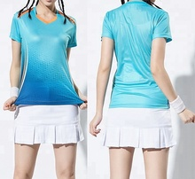 Neue Customized Sport 100% Volle Sublimation Druck Badminton Jersey