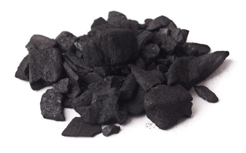 Charcoal Oak, Mangrove Hardwood Charcoal / Coconut Shell Charcoal / Hexagonal Shape Sawdust