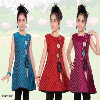 Superb Modern Fancy Front Embroidery Kurti Buy Machine Embroidery