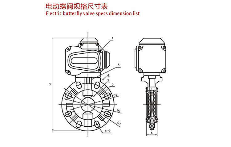 6 10 24 Inch 12V Motorized Electric Actuator Wafer Type Plastic FRPP PPH CPVC PCDF PVC UPVC Butterfly Valve