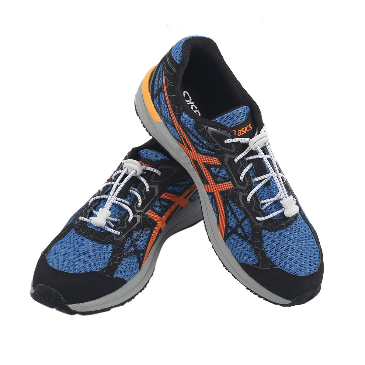 9ab13be3011d66 Get Quotations · No Tie shoelaces Newsight Tieless shoelaces Stretch  shoelaces Best in Sports Fan Shoelaces Round Shoelaces for