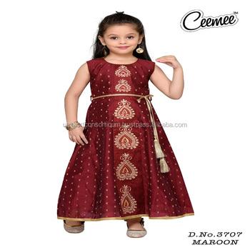 6306ea0a60e99 Latest Long Length Beautiful Designer Girls Dress - Buy Latest ...