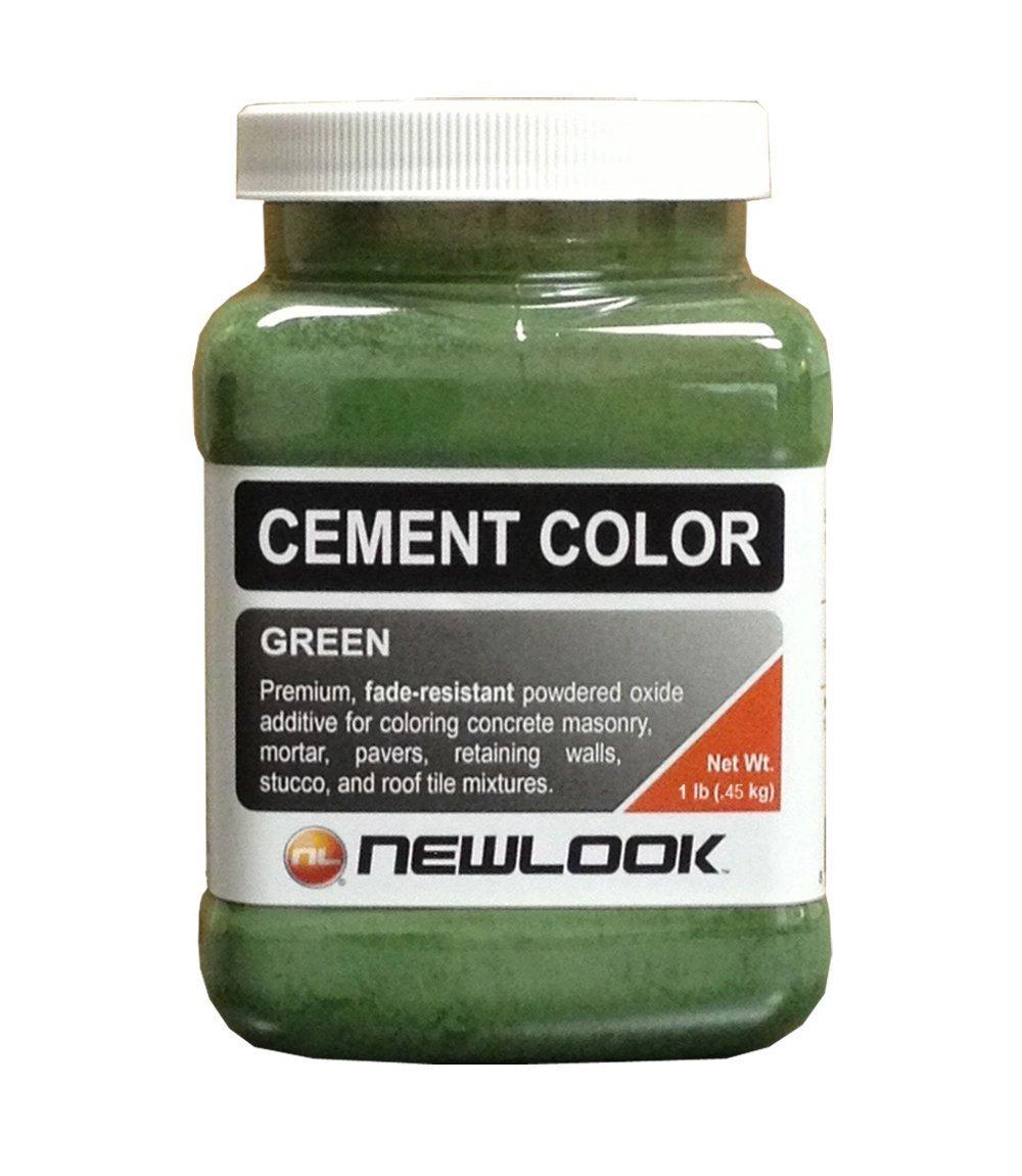 CEMENT COLOR 1 lb. Green Fade Resistant Cement Color