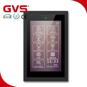 2018 GVS K-bus KNX EIB New 3.5 5 inch Touch Panel KNX Touch Screen in smart home hotel villa office building automation system