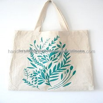 Hand Block Printed Tote Bag Ssth 54