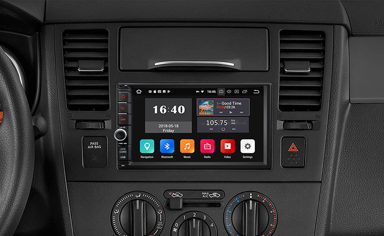 EONON GA2175 Universal Android 8.1 2GB RAM Quad-Core 2-DIN Car GPS Navigation Double Din Car Stereo