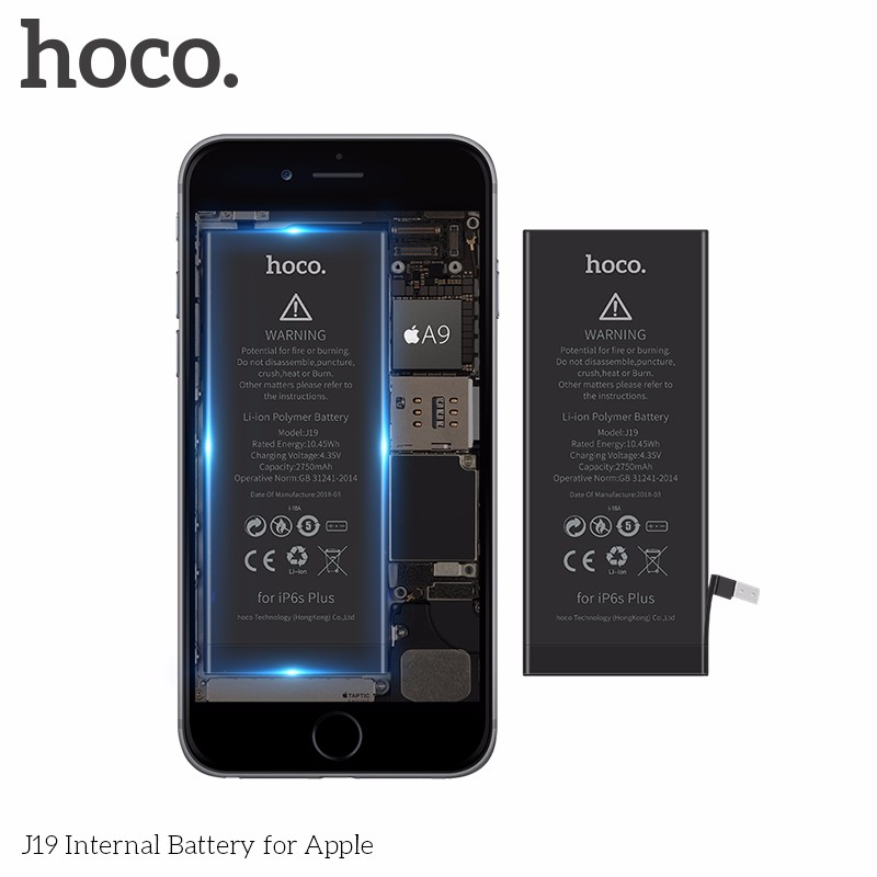 New arrival Hoco J19 Business Battery for iPhone,mobile phone battery for  iphone,inner battery for iphone, View battery mobile battery battery for