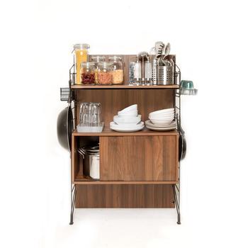 Ezbo Kitchen Furniture Rta Pantry Storage Cabinet Wooden 4 Feet