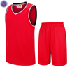 Red Custom High Quality Cheap Basketball Uniform for Men