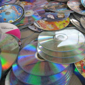 Plastic PC CD/DVD Scraps Available