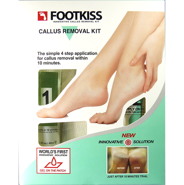 Foot Kiss Kit Callus Softening patch Moisturize Callus Softening patch Feet Peeling Exfoliation Cracked Heel Skin Callus Removal