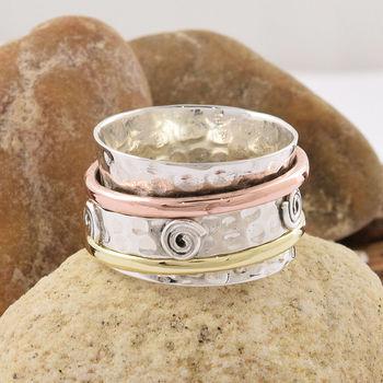 Goede Fijne Sieraden Plain Zilveren Ring Handgemaakte Zilveren Ring YF-33