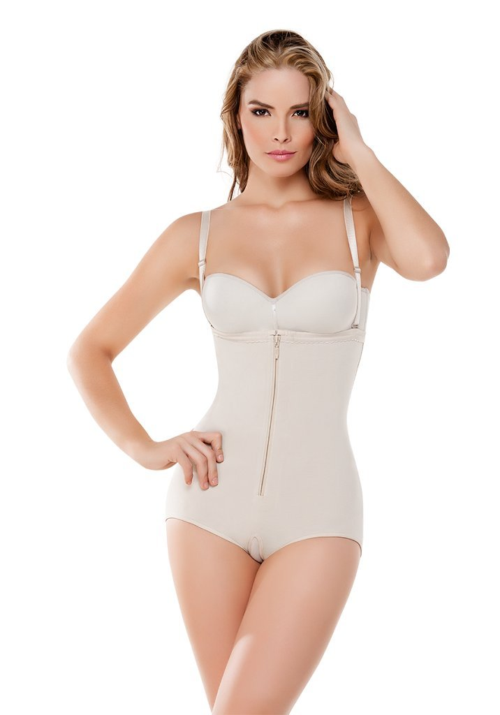 4e2f110f6bc Get Quotations · Fajate CYSM 292 -Body Térmico Strapless   Slimming  Strapless Thermal Body Shaper