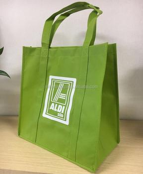 Green Non Woven Shopping Bag Buy Reusable Shopping Bags Non