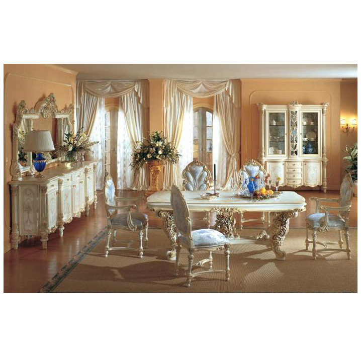 French Italian Luxury Antique Dining Room Set Furniture Nfds20 Table Chair Chairs And Product On Alibaba