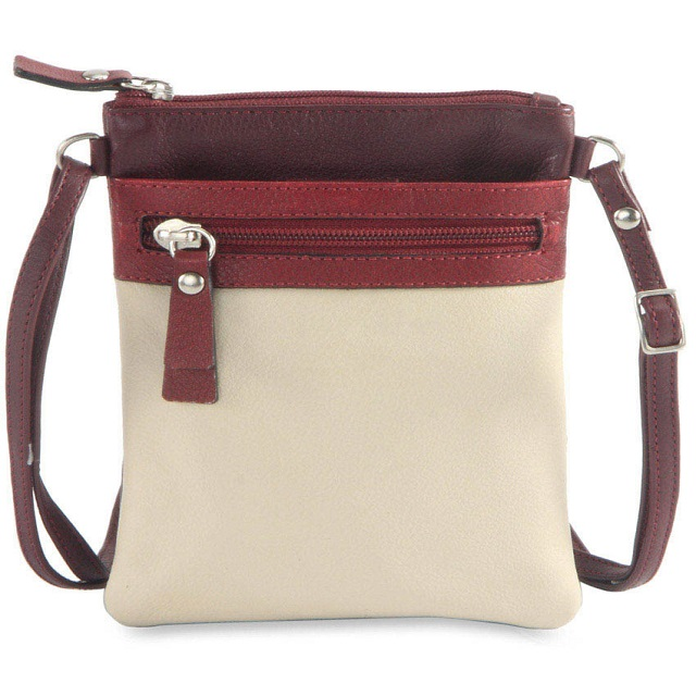 Multicolour leather Sling bag