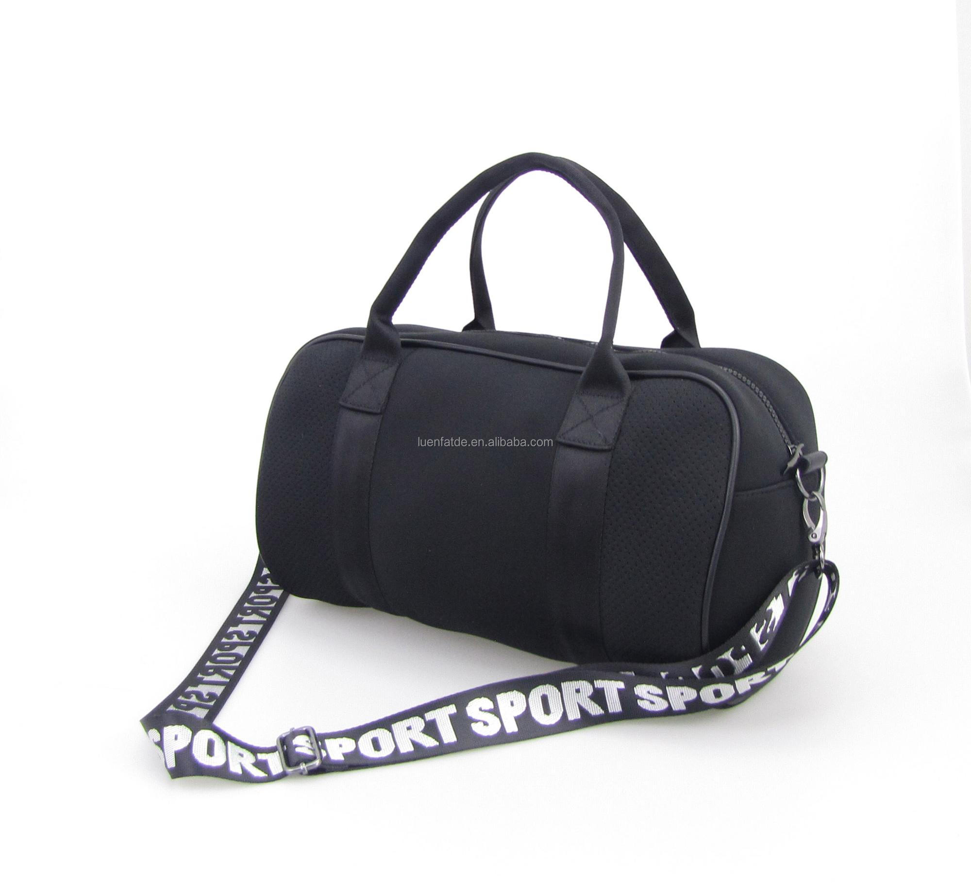 Neoprene Men Women Multifunction Big Sport Handbag Fitness Gym Bag Yoga Mat Duffel bag