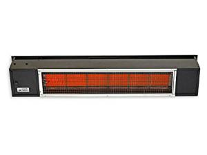 Quality Brand Company QBC Bundled Sunpak Classic S25-LP (25,000 BTU) Hanging Patio Heater Black Propane Gas (LP) - No Fascia Kit - Plus Free QBC Infrared Heating Fundamentals QBC eGuide