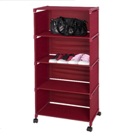 China manufacture high quality metal bookshelf with wheels