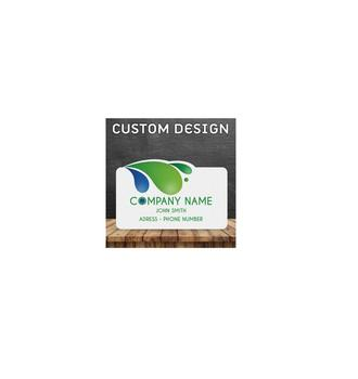 Excellent Quality Paper Business Card - Custom Design - 1 or 2 Sided Printing