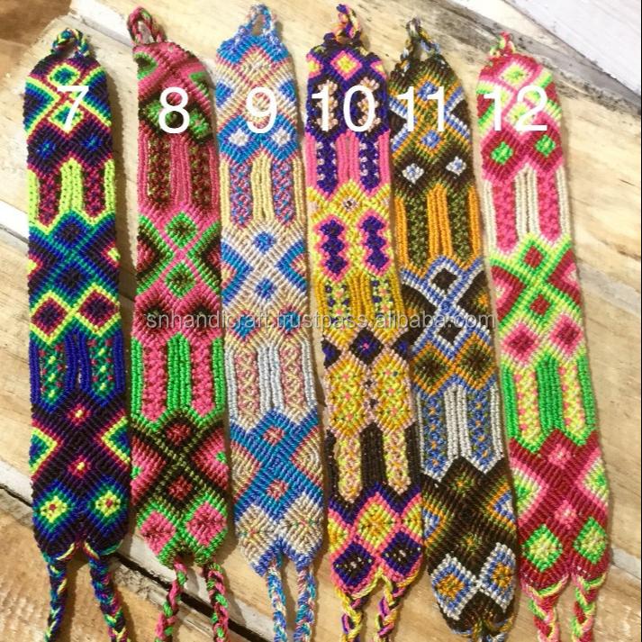 Woven Friendship Bracelets Omega Thread