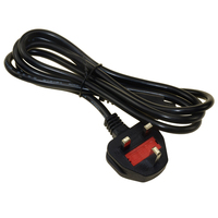 High quality Laptop Extension AC Power Cord UK/US/AUS/EU plug with C8 end ac cable