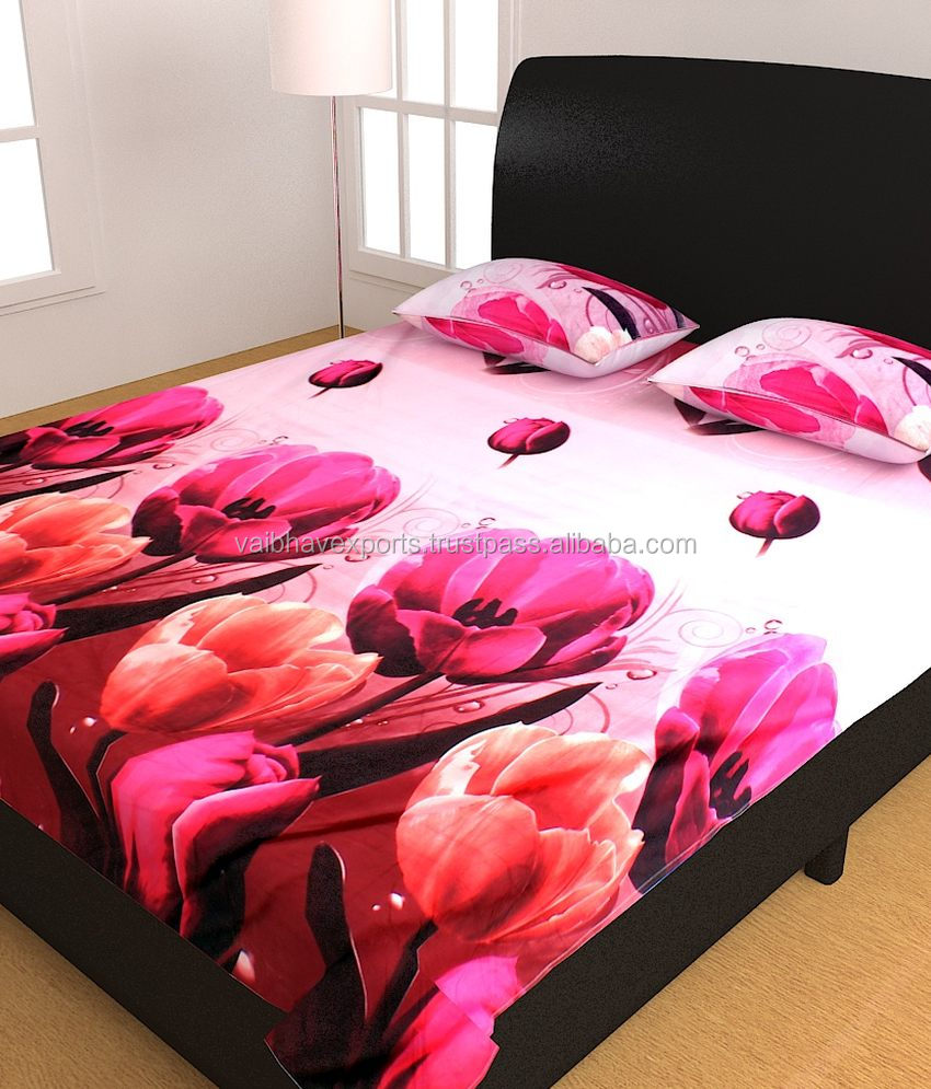 Charming India Digital Printed Bed Sheet Wholesale 🇮🇳   Alibaba