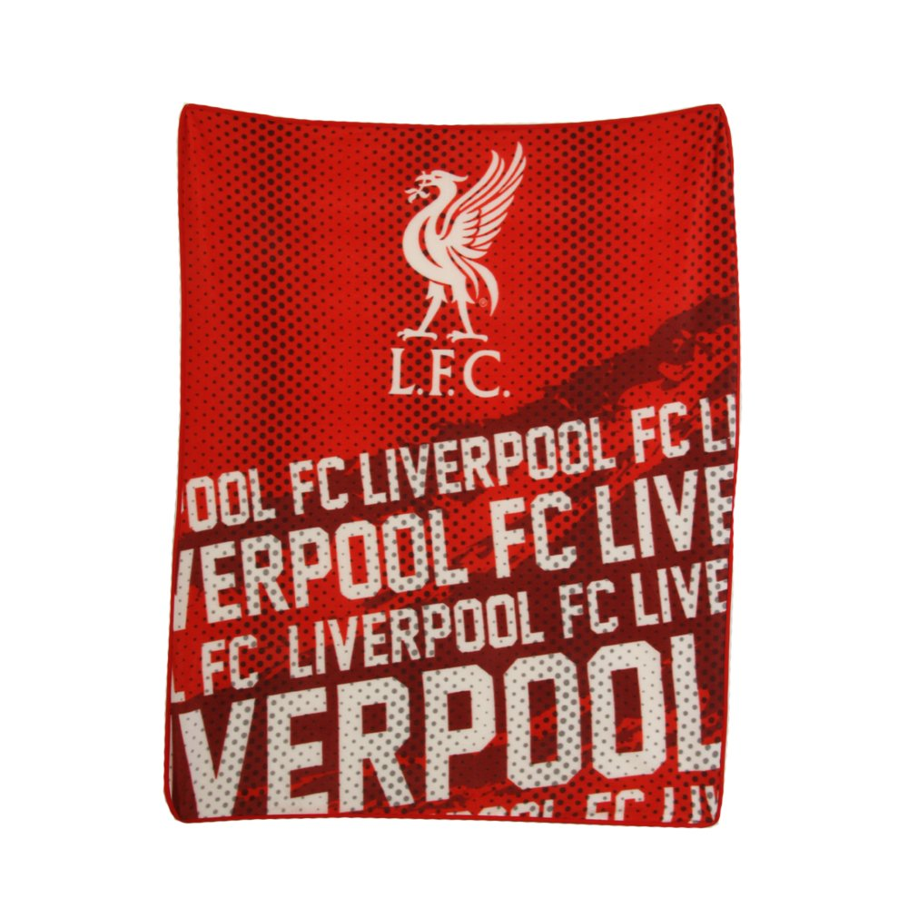 Liverpool FC Impact Fleece Blanket / Throw- Latest Impact Design
