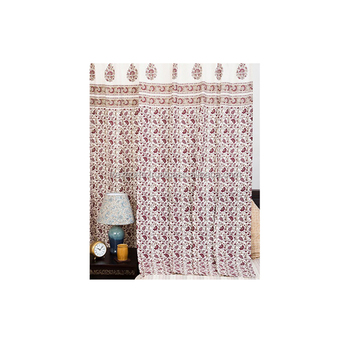 100% Cotton Living Room Curtain Supplier India