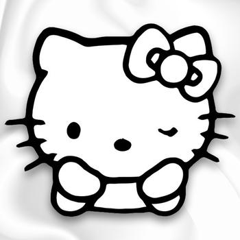 Hello Kitty Vinyl Decal Sticker