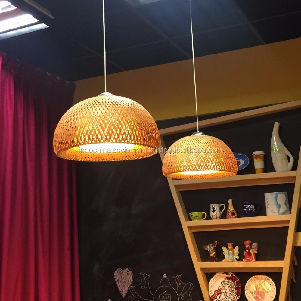 l shade lampshade com lighting bamboo pixball woven habitat weaving lamp