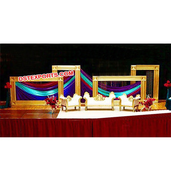 New Wedding Reception Stage Frame Decoration Wedding Square Self