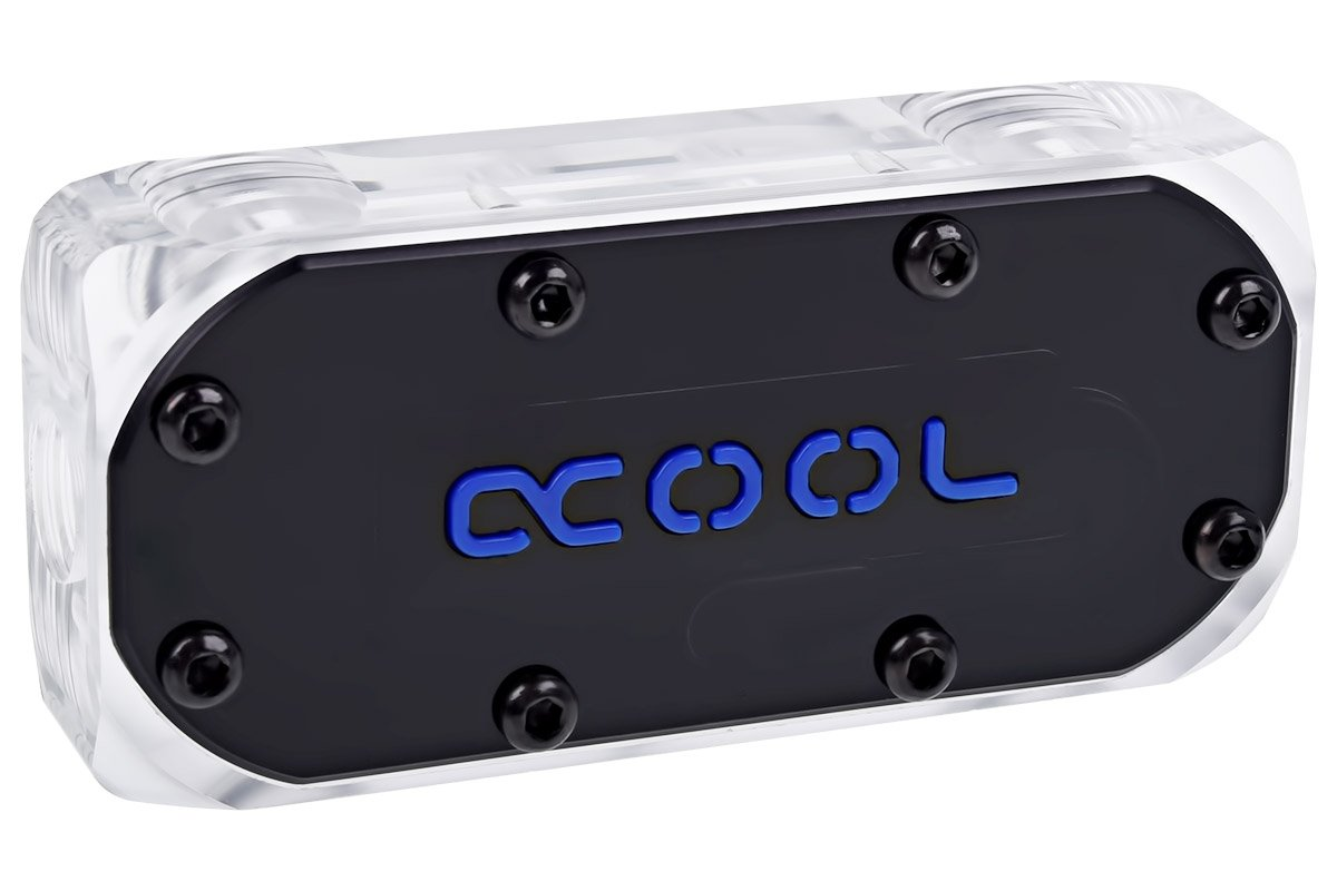 Alphacool GPX SLI Connector, Dual Asymetric, Plexi