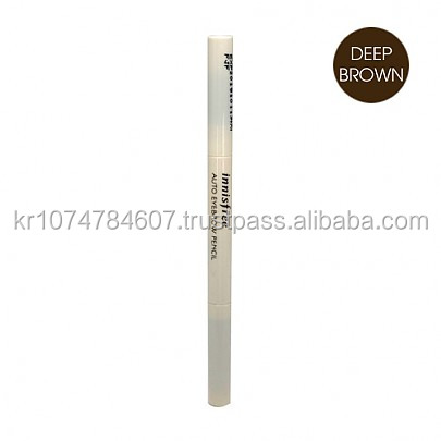 Innisfree Eco Eyebrow Pencil #04 Espresso Brown Easy to Sharpen Pencil Natural Looking Brows