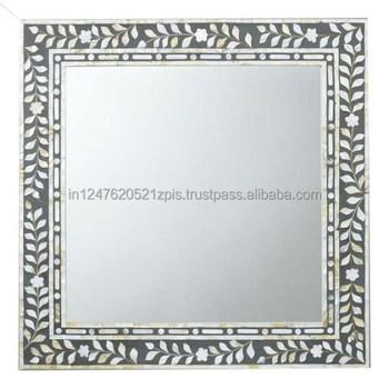 Mother Of Pearl Iinlay Mirror Frame Buy Mother Of Pearl Inlay Mirror