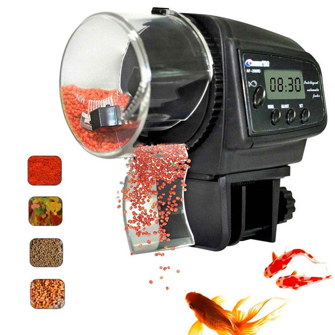 Fish Feeder, Automatic Fish Feeder, eBoTrade Aquarium Tank Auto Fish Food Timer Batteries Included