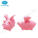 Wholesale Plastic Pink Flying Pig Piggy Bank