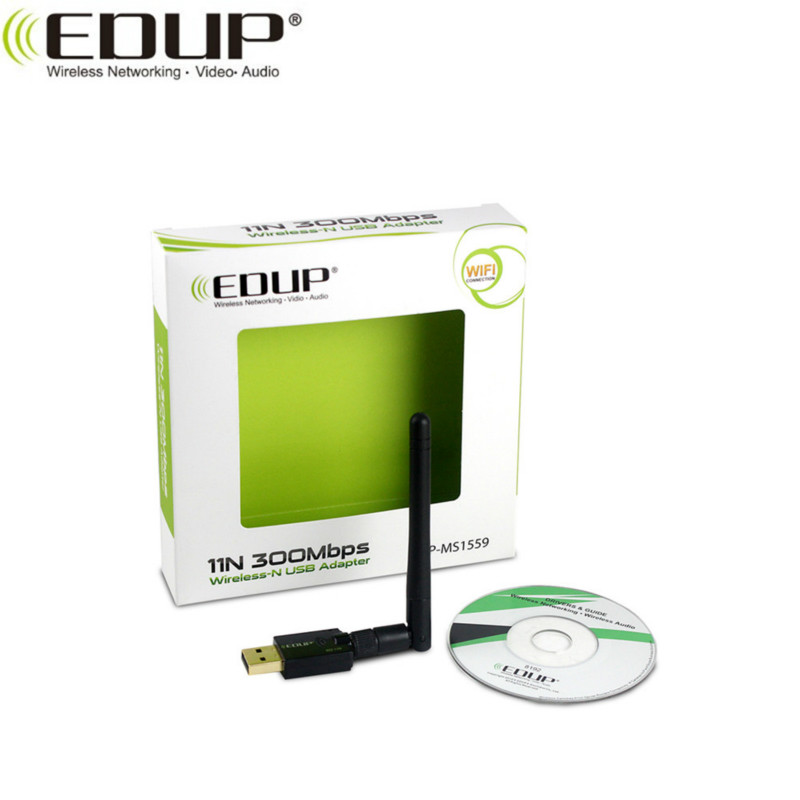 EDUP EP-MS1559 300Mbps 2.4GHz Wireless Adapter Realtek 8192 Chipset WiFi Dongle