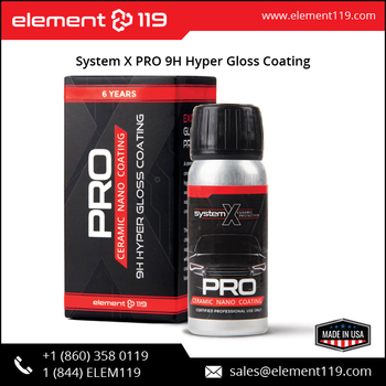 High Gloss 9h Hardness System X Pro Hyper Gloss Coating