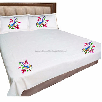 . Hotel Cotton Embroidery Design Pillow Case  duvet Cover Custom  200tc 250tc 300tc 400tc 600tc Embroidery Duvet Cover   Buy Custom Computer  Case