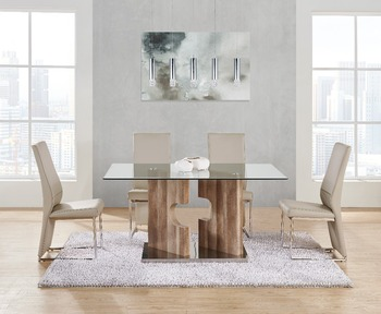 Modern Dining Room Furniture Table And Chair Model D219dt | D735dc - Buy  Upscale Dining Room Dining Table And Chair,Modern Furniture Tables And ...