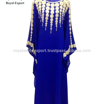 a4cb665c8424 Royal collection indian kaftan modern style designer kaftan direct from  factory chiffon Fabric Crystal work Gorgeous