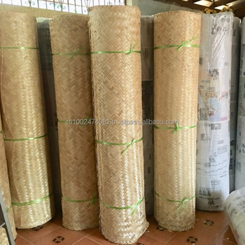 Bamboo Woven Panels For Ceiling Wall Decor Thailand