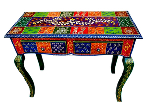 Sensational Hand Painted Wooden Console Table Wholesale Console Table Home Interior And Landscaping Dextoversignezvosmurscom