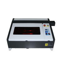 LY 4040 CO2 gold Laser Engraving milling machine 50W CNC router for metal wood update from 3040