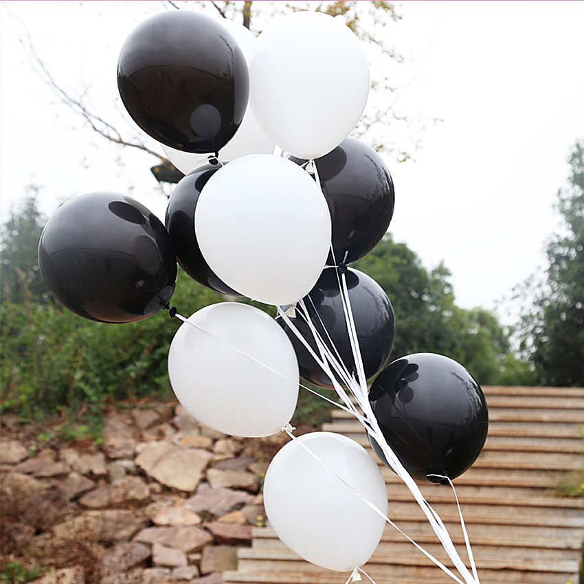 Solid 12 Inch 3.2g inflatable air party balloons for birthday wedding shower children adult decoration wholesale