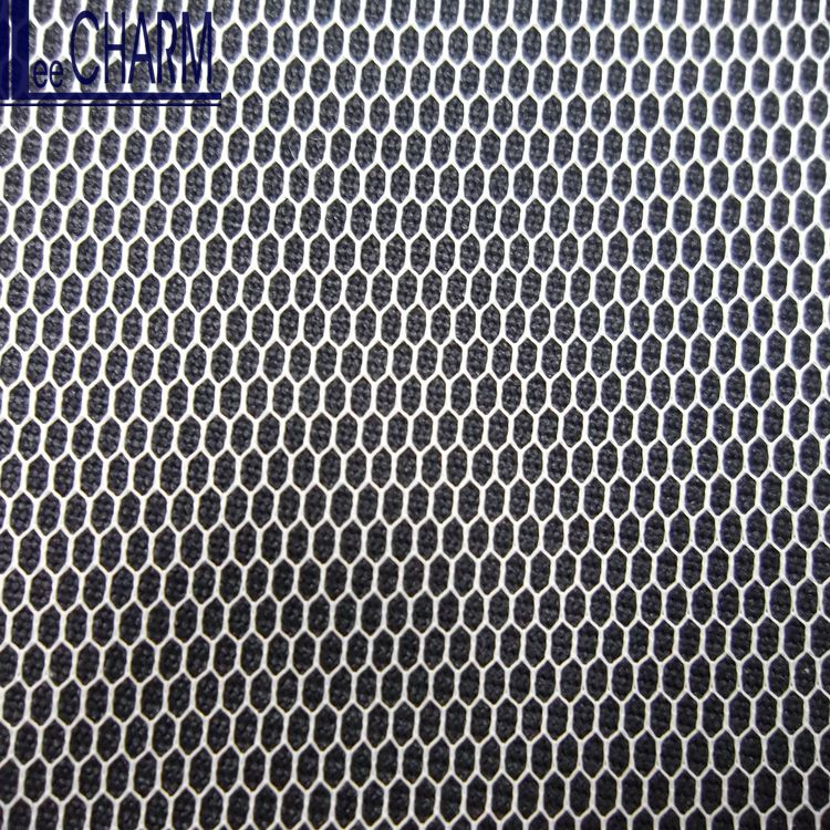 LCSH505 30D 18gsm Hexagon Polyester Ivory Soft Bridal Netting Fabric